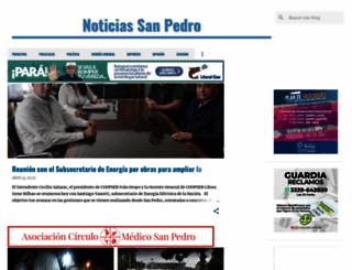 notisanpedro.info screenshot