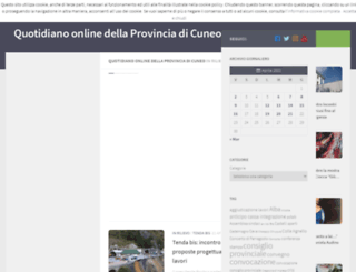 notizie.provincia.cuneo.it screenshot