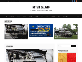 notiziedalweb.info screenshot