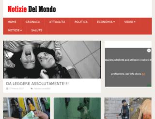 notiziedelmondo.com screenshot