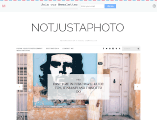 notjustaphoto.me screenshot