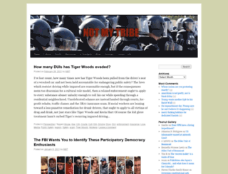 notmytribe.com screenshot