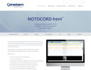 notocord.com screenshot