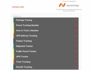 notrack.click screenshot