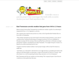 notsville.com screenshot