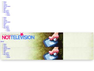 nottelevision.net screenshot