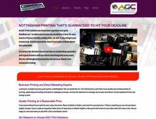nottinghamprinter.co.uk screenshot