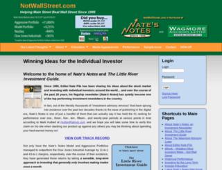 notwallstreet.com screenshot