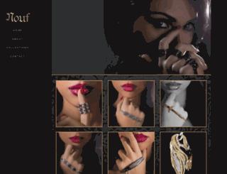 noufjewellery.com screenshot