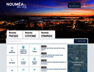 noumea.nc screenshot