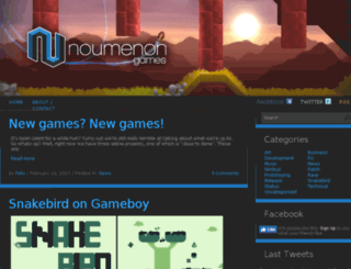 noumenongames.com screenshot