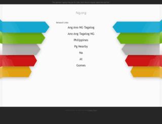 noun.ng.org screenshot