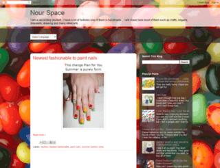 nourcrafts.blogspot.com screenshot