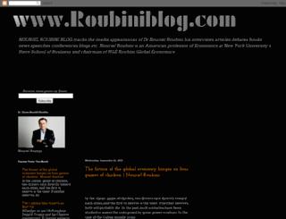 nourielroubini.blogspot.ca screenshot