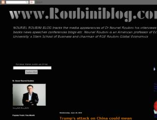 nourielroubini.blogspot.com screenshot