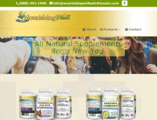 nourishingwellnutritionals.com screenshot