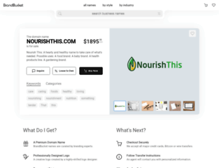 nourishthis.com screenshot