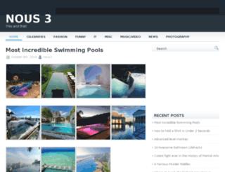 nous3.com screenshot