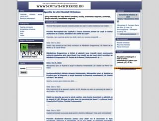 noutati-ortodoxe.ro screenshot