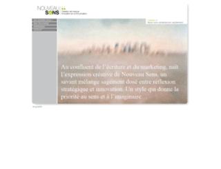 nouveausens.com screenshot