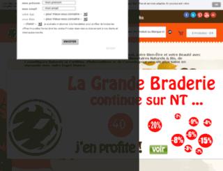 nouvelles-terres.com screenshot