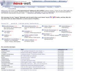 nova-welt.de screenshot