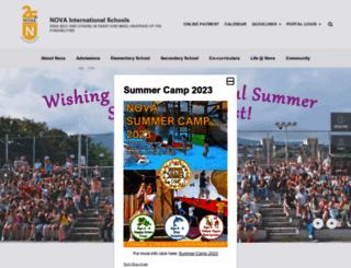 nova.edu.mk screenshot