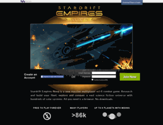 nova.stardriftempires.com screenshot