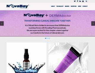 novabaypharma.com screenshot