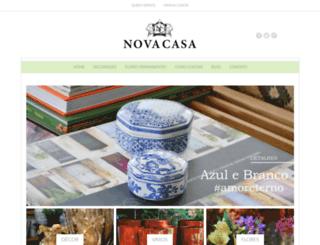 novacasadecor.com.br screenshot