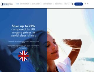 novacorpus.co.uk screenshot