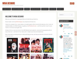 novadesigns.org screenshot