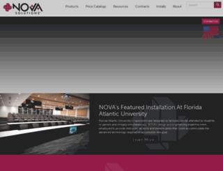 novadesk.com screenshot