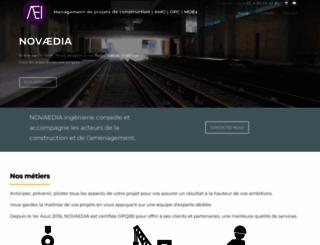novaedia.com screenshot