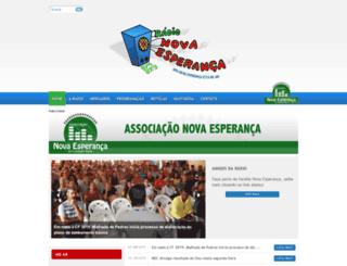 novaesperancanoar.com.br screenshot