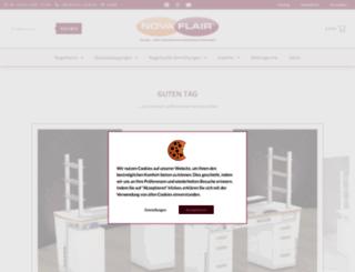 novaflair.de screenshot