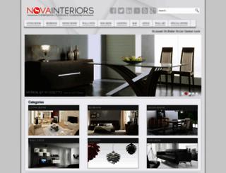 novainterior.com screenshot
