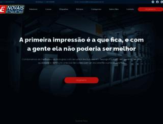novaisetiquetas.com.br screenshot