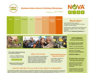 novakids.com.au screenshot
