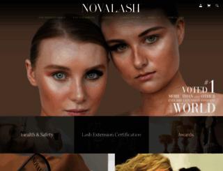 novalash.com screenshot