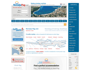 novalja-pag.net screenshot