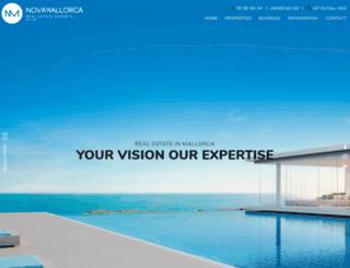 novamallorca.com screenshot