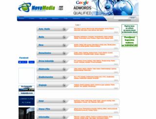 novamedia.co.rs screenshot
