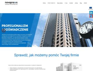 novapraxis.pl screenshot