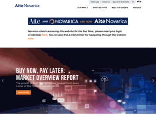 novarica.com screenshot
