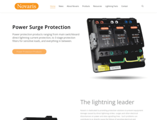 novaris.com.au screenshot
