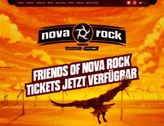 novarock.at screenshot