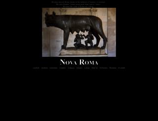 novaroma.org screenshot