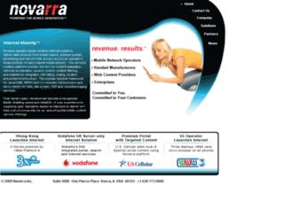 novarra.com screenshot
