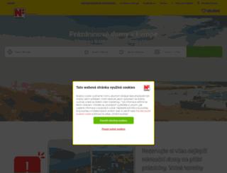 novasol.cz screenshot